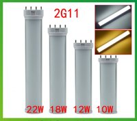 Wholesale 2G11 K LED Tube Light Bulb W W W w G11 LED Tube Lamp Pin LED G11 Bulb W W W