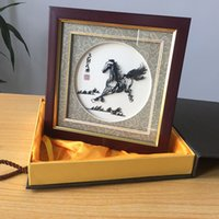 Wholesale Iron painting handicrafts with Chinese culture connotation the horse