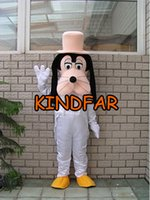 big dog outfits - New Style Big Dog Mascot Costume Adult Size Fancy Dress Cartoon Character Carnival Outfits Suit