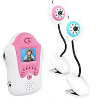 Wholesale Inch TFT Color LCD Monitor GHz CH Wireless Camera Receiver Flower Baby Monitor With Night Vision