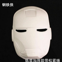backing boards - Paper Masks Diy Masks Masks for Masquerade Drawing Board Solid White Zorro Blank Match Mask Party Hand Painted White Face Mask Cosplay DHL