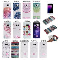 apple iphone live - Galaxy Note Flower Dandelion Butterfly Marble Soft TPU Case For Iphone Plus Henna Mandala Live Life Pencil Lover Dreamcatcher Tower Skin