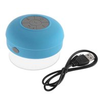 Wholesale High Quality Mini Waterproof Bluetooth Wireless Speaker Speakers Handsfree Music Mic Suction Car Shower with Retail Package