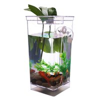 Wholesale My Fun Fish Self Cleaning Pet Fish Tank With