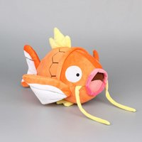 baby gifts fish - quot cm Orange Magikarp Fish Pokem Pocket Monsters Pikachu Plush Toy Cartoon Plush Toys For Baby Gifts
