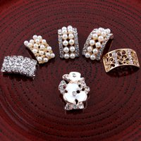 Wholesale 30pcs Metal Rectangle Arch Bridge Flower Rhinestone Button for Hair Bows Alloy Crystal Flatback Beads for Jewelry Findings