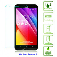 asus protector - Tempered Protective Glass Film For asus zenfone2 zenfone ZE551ML ZE550ML Screen Protector on mobile phone quot