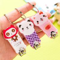 Wholesale Hot Sale Creative Cute Cartoon Animal Nail Clippers Nail Art Kits Nails Products