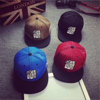 baseball cubes - 2016 New male and female Baseball Cap tide letter embroidery hip hop fashion personality cube cap