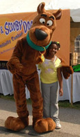 adult scooby costume - Scooby scooby doo Cartoon Dog plush Mascot costume Marine animal Mascot Costumes Adult size