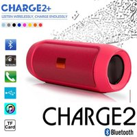 audio radios - CHarge II with Logo Wireless Bluetooth Mini Speakers Subwoofer Portable Sports HIFI Waterproof Bluetooth Speaker Pluse for JBL Charge2