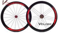 aero set - 20 Inch bike wheel Full carbon Velosa super sprint aero wheelset wheelset mm clincher folding bike wheel