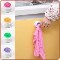 Wholesale Kitchen wash cloth cloth clip clip creative Towel Hook PVC plastic viscose wash towel drying rack
