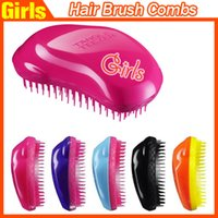 assorted white - New TT Original TANGLE TEEZER Hair Brush HairBrushes Combs TT Brand by Teezer Assorted Colors Fast shipping