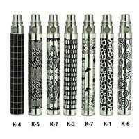 achat en gros de électronique d'image-batteries Ego K Ego K batterie Vaporisateur batterie cigarette électronique E Cig EGO K batterie avec coloré Image colorée Batterie Ego-K Hot