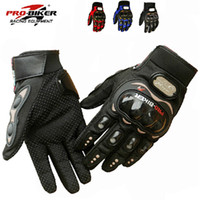 Wholesale HOT SALE Professional sport motorcycle gloves men protect hands full finger guantes moto motocicleta guantes ciclismo accesorios