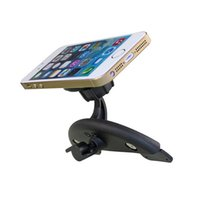 Wholesale High Quality Degree Rotating Adjustable Magnetic Universal Car CD Slot Phone Mount Holder Stand For SAMSUNG For iPhone