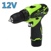 magnetic drill press - 12V Lithium Battery Rechargeable Charging Parafusadeira hand Cordless Electric Drill bits press Electric Screwdriver Power Tools