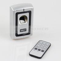 Wholesale Fingerprint Door Lock Access Control Controller Security Kit Users Metal Case Remote Control F007