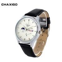alloy product design - CHAXIGO new style fashion charm watch best selling products factory classic design mens watches leather band wrist watches