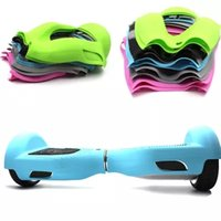 balance skin - 6 inch Hoverboard Electric Scooter Protective Silicone Case Self Smart Balance Scooter Wheels Colors Silicone Skin Case Cover DHL