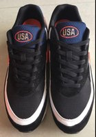 Wholesale 2016 new fashion outdoor shoes premium BW man shoes USA logo on shoes