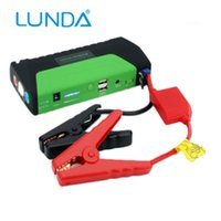 Wholesale Portable Car Jump Starter mAh V A Peak Current Phone Power Bank Battery Booster Charger with LED Flashlight and SOS
