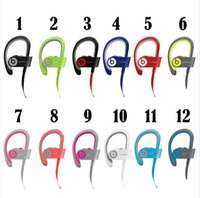 Wholesale Beats powerbeats wireless Sport Bluetooth Headset powerbeats2 Active collection noise Cancel headphone Colors with retailbox refurbish