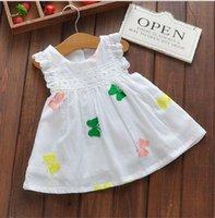 baby shrug - Brand Kids Girls Dresses Baby Girl Clothes Year Birthday Dress Girls Princess Dress Shrugs For Summer Autumn Bebek Elbise