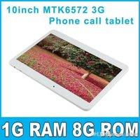 Bon Marché Android tablet with sim card slot-NOUVEAU! 10 pouces MTK6572 Dual Core 3G Phone Call tablet pc bluetooth GPS Wifi double caméra avec 2 Emplacement pour carte SIM PB10-G3