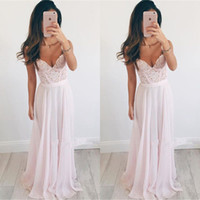 Wholesale Elegant Chiffon Long Prom Dresses Sexy Backless Sweetheart Appliqued Evening Gowns Floor Length Party Celebrity Dresses Robe de soriee