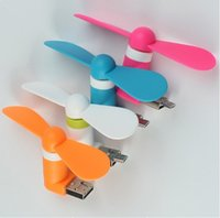 Wholesale Portable OTG Mini Micro USB Large Wind Cooling Fan For For Android Mobile Phones Desktop Laptop