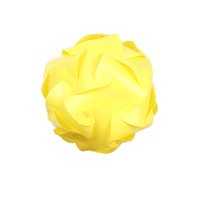 Wholesale 30pcs Elements IQ Puzzle Creative Jigsaw Party Decor Light Lamp Ceiling Lampshade Design Decoration Yellow