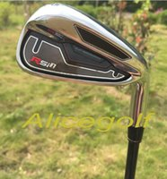 Wholesale 2015 new golf irons RSi irons PASw with TM7 graphite shafted Regular Stiff Flex per set with headcovers