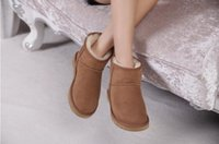 australian shoes ugg - 2016 Australian Style Women Snow Boots Cowhide Leather Winter Shoes For Female Good Quality European Size Wholesales