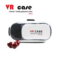 Wholesale Google cardboard HeadMount VR BOX Version D Glasses VR Virtual Portable Style Comfortable Best selling Style