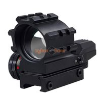 Wholesale NEW Tactical Holographic Sight Riflescope Reticles Projected Red Green Dot Reflex Sight Scope Mount Hunting Rifle Scope