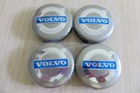 Wholesale NEW Car Styling mm VOLVO Wheel Center Hub Cap Cover Sets Volvo Badge Emblem S40 S60 S80L XC60 XC90