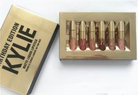 Wholesale Kylie Jenner Cosmetics The Limited Edition Birthday Collection Mini Lipsitck set Lip Gloss