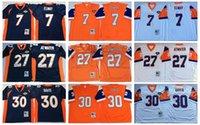 animal steve - high quality Denver jerseys Broncos John Elway Terrell Davis Steve Atwater Throwback JERSEYS real photos