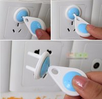 Wholesale New Russian EU European Euro Standard Child Electric Socket Outlet Plug Two Phase Safe Lock Cover for Baby Kids Safety