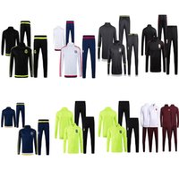 Wholesale 2016 Men Tracksuits Brasil Roma Mancity Galatasaray Lyon Germany Mexico Fenerbace Soccer Training Suits longsleeve Football Uniforms