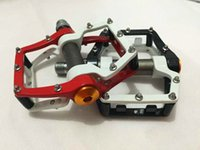 area feet - Aluminum mtb Bike Pedal Ultralight Large foot area Sealed Bearing Pedals Cycling Cleats