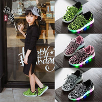 aa flooring - Hug Me Girls Boys New Autumn Children s Shoes LED Lights Casual Shoes Running Sports Lace Up Shoes AA