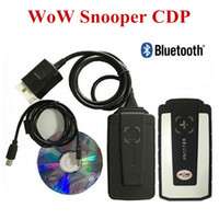 Wholesale 2016 cdp with Bluetooth V5 R2 software tcs cdp pro for cars trucks auto diagnostics tools better than tcs cdp