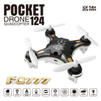 Wholesale FQ777 Pocket Drone CH Axis Gyro Quadcopter With Switchable Controller RTF Helicopter Toys