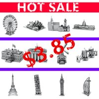 animal etchings - HOT SALE World ARCHITECTURE D Metal model KITS NANO etching Puzzle price Assembly belongs to your world ICONX