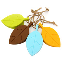Wholesale Cheap Novelty Cute Autumn Leaf Style Home Decor Finger Safety Protection Silicone Rubber Door Stopper Wedge Best Gift