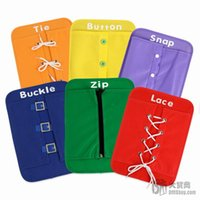 Wholesale Children s educational toys children clothing aids early childhood woven cardboard kinds of colors