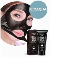 Wholesale BIOAQUA Facial Blackhead Remover Deep Cleaner Mask Nose Mask Suction Anti Acne Treatments Black Head Mask g